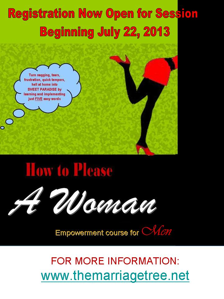 HOW TO PLEASE A WOMAN