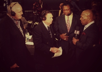Photo with Mike Mittman, Larry Holmes, Mike Tyson & Gerry Cooney