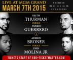 BaylorIC TV Boxing Blog: Thurman vs Guererro/ Broner vs Molina Post fight review